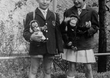 437 Einschulung Georg 1960 2